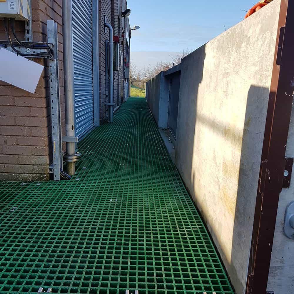 GRP Flooring - Chemglass